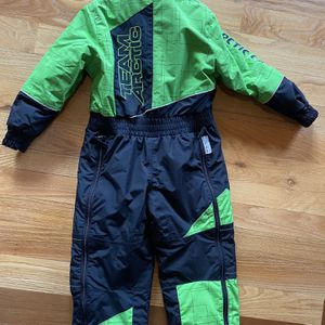 Snowmobiling One Piece Kids One Piece Snow Suit, Genuine Arctic Cat Outdoor Wear for Sale in Washougal, WA