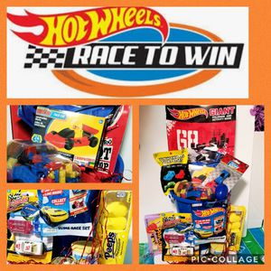 HOT WHEELS Theme Easter Basket for Sale in Laredo, TX