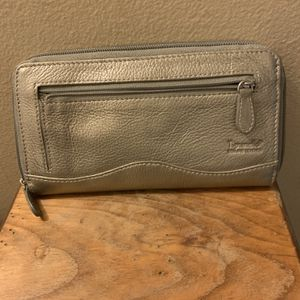 "Tignanello Wallet (silver) Leather-New 8""long—4""deep Please Check Out My Other Offers for Sale in Phoenix, AZ"