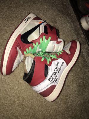 Offwhite Jordan 1 size 10 for Sale in Lincolnia, VA