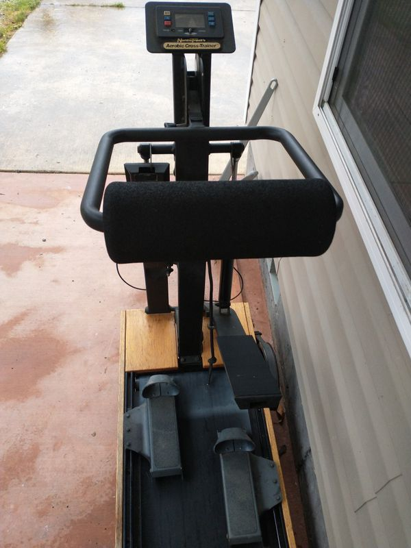 NordicTrack cross trainer stair stepper treadmill and cross-country ski