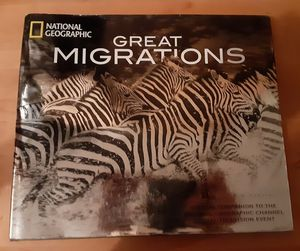 National geographic hard back great migrations book for Sale in Gresham, OR