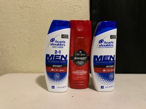 Head & Shoulders & Old Spice for men for Sale in Moreno Valley, CA