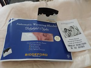 Biddeford Automatic Warmer Blanket Size Full for Sale in Olney, MD