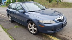 2004 Mazda 6 wagon V6 automatic fully loaded sunroof for Sale in Northford, CT