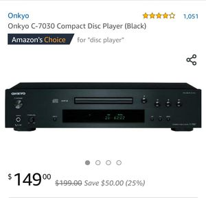 ONKYO C-7030 NEW IN BOX for Sale in Cypress, TX