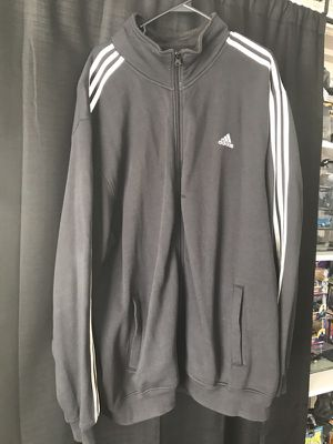 Black Adidas track jacket for Sale in Boston, MA