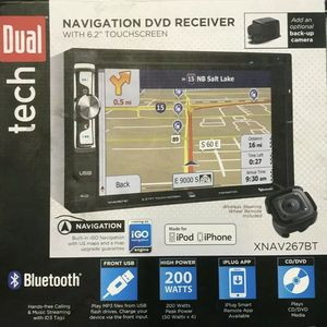 Dual Double Din With Gps And Bluetooth for Sale in Chesapeake, VA