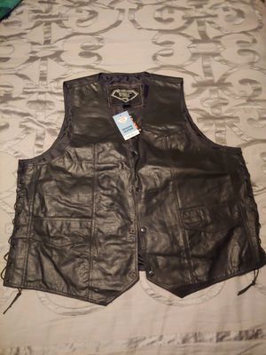 Motorcycle Leather Vest for Sale in Portland, OR