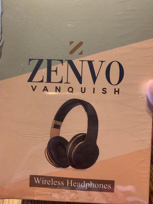 Zenvo Vanquish Wireless Headphones for Sale in Keota, IA