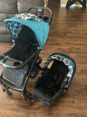 Stroller and car seat /carreola. Con portabb for Sale in Las Vegas, NV