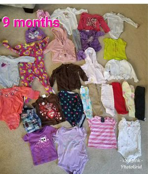 Baby clothes lot new size 9 months for Sale in Wadsworth, OH