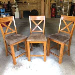 3 Barstool Chairs for Sale in Federal Way, WA