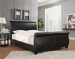 Bed frame and queen pillowtop mattress for Sale in Grosse Pointe Park, MI