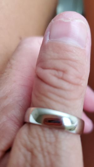 Real silver wedding band for Sale in Pickerington, OH