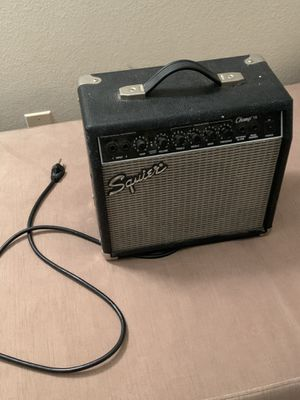 Squire gender amp - Champ 15 for Sale in Houston, TX