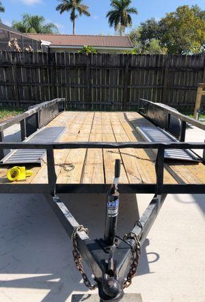 16x7 ft utility trailer for Sale in Miami, FL