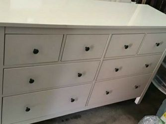 Ikea HIGH GLOSS 8 Drawers Drawer Dresser Chest Clothes Storage Stand Unit Cabinet Organizer for Sale in Monterey Park,  CA