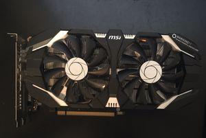 MSI GeForce GTX 1060 3GT OC for Sale in Vacaville, CA
