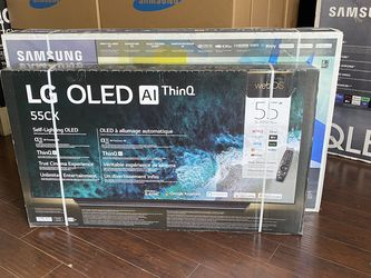 55 INCH LG OLED CX SMART 4K TVS BRAND NEW HDMI 2.1 GAMING TV SALE for Sale in Burbank,  CA
