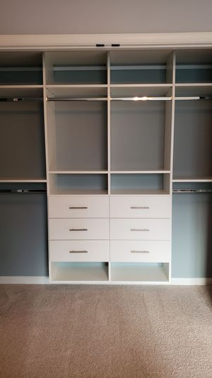 Closet organizers --- Custom shelving for Sale in Willow Grove, PA
