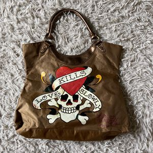 Ed hardy shoulder bag tote for Sale in Lansing, IL