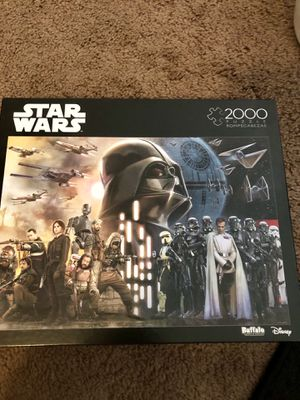 Disney Star Wars 2000 piece puzzle BRAND NEW for Sale in Austin, TX
