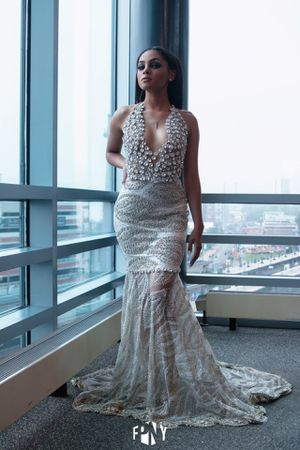 Silver prom dress size xs for Sale in Yonkers, NY