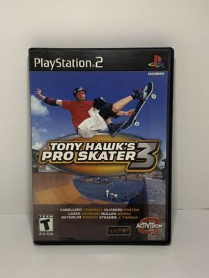 PS2 Toby Hawk's Pro Skater 3 for Sale in Southwest Ranches, FL