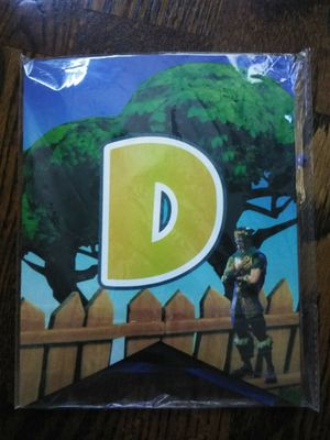 New Fortnite birthday banner for Sale in French Camp, CA