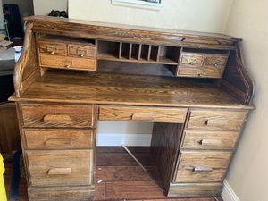 Antique roll top desk 135 for Sale in Fresno, CA