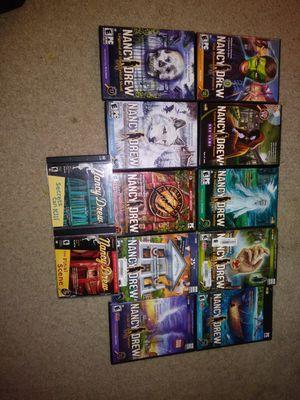 Nancy drew game collection for Sale in Wilmington, DE