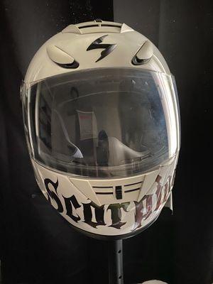 Scorpion Motorcycle Helmet (L) for Sale in Culver City, CA
