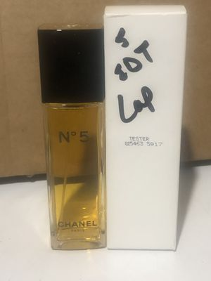 CHANEL N°5 EAU DE TOILETTE 3.4oz Spray w/ Tester Box (BRAND NEW) 100% AUTHENTIC! READY TO SHIP! WOMEN FRAGRANCE PERFUME (RETAIL $107) for Sale in Philadelphia, PA
