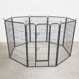 "New $125 Heavy Duty 48"" Tall x 32"" Wide x 8-Panel Pet Playpen Dog Crate Kennel Exercise Cage Fence for Sale in Whittier, CA"