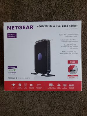 NETGEAR N600 Router for Sale in Cumberland, VA