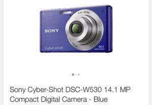 Sony Cyber-Shot, DSC-W530, Digital Camera for Sale in Birmingham, AL