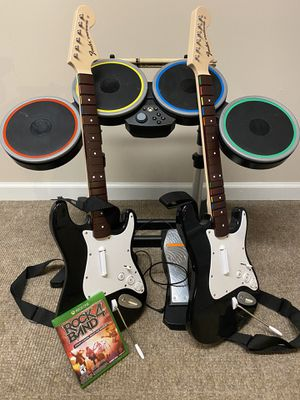 Rock Band 4 Band in a Box + Guitar for Xbox One for Sale in Flemington, NJ
