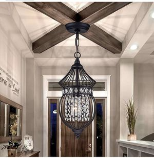 Black Chandeliers Globe Crystal Chandelier Lighting for Sale in Los Angeles, CA