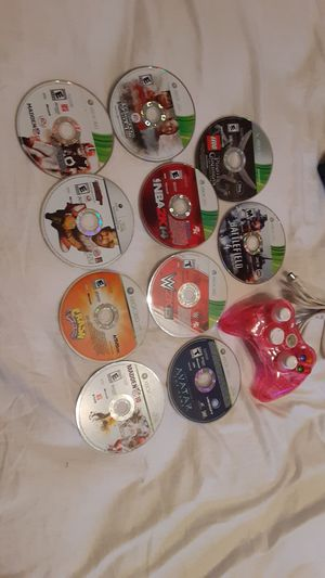 Xbox 360 games/controller for Sale in Georgetown, TX