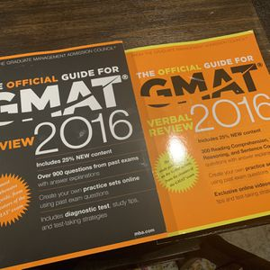 Official Guide GMAT Books[FREE] for Sale in Fremont, CA