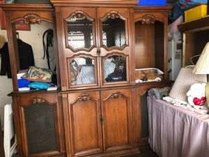 Antique Wall Shelf and cabinets for Sale in Los Angeles, CA