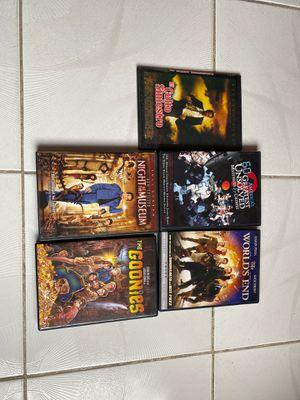 5 free DVD's for Sale in Miami, FL