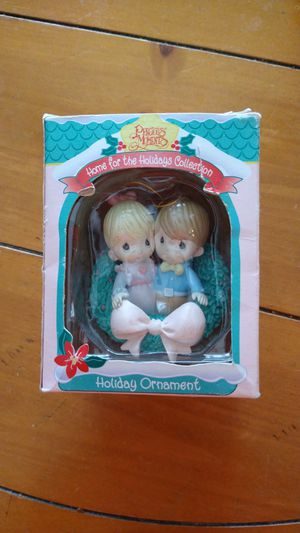 1995 home for the holiday collection precious moment holiday ornament for Sale in Trinity, FL