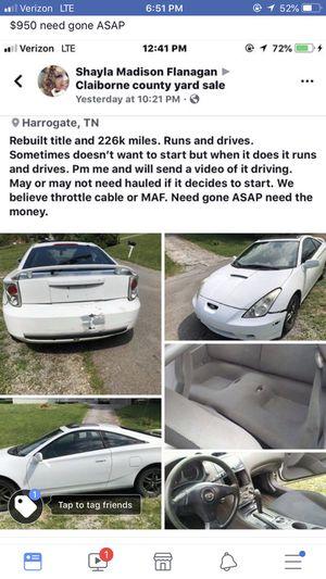 2001 Toyota Celica Gt for Sale in Harrogate, TN