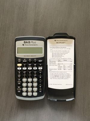 BA II Plus Financial CALCULATOR for Sale in Vancouver, WA