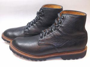 ALLEN EDMONDS Men's Boots Black Pebble Grain Leather US Size 11.5 Msrp $445 USA for Sale in Hayward, CA