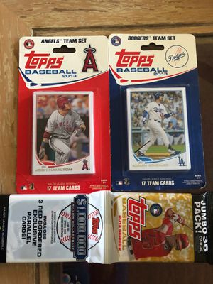 Dodgers and Angels baseball cards 2013 for Sale in Tustin, CA
