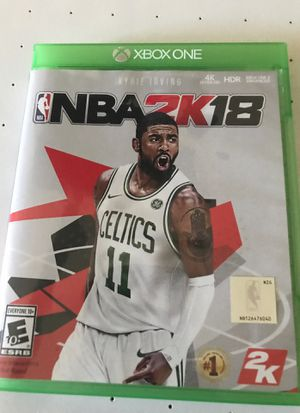 Nba2k19 for Xbox one for Sale in Keller, TX