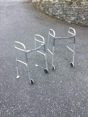 Elderly aluminum adjustable walker for Sale in Concord, MA